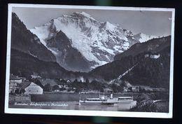 SUISSE LE VAPEUR INTERLAKEN SCHIFFEINFARTH - Suisse