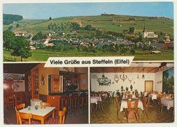 AK  Steffeln Eifel Gasthaus Schlösser - Duitsland