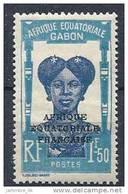 1928-31 GABON 119* Femme,  Gomme Altérée - Zonder Classificatie