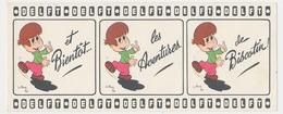 Buvard 19.9 X 8 DEFT Et Bientôt Les Aventures De Biscotin Illustrateur J. L. Pesch - D