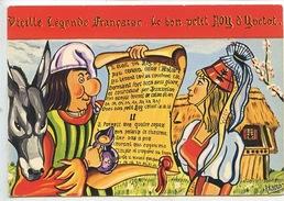Le Bon Petit Roy D'Yvetot Vieille Légende Française - Yvetot Capitale Du Pays De Caux N°2 Cp Vierge Folklore - Yvetot