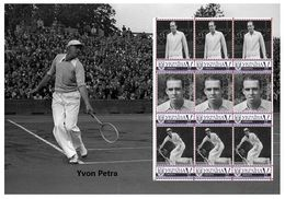 2015 Ukraine, Sport, Tennis, S/S Of 9v - Ukraine