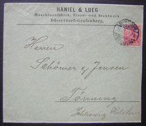 1900 Haniel & Lueg Maschinenfabrik, Eisen, Und Stahlwek Dusseledorf Grafenberg Voir Système D'ouverture ! - Allemagne