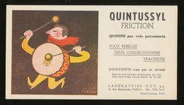 Buvard  -  QUINTUSSYL - Produits Pharmaceutiques