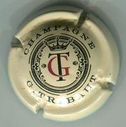 CAPSULE-CHAMPAGNE TRIBAUT G N°18x Crème, Noir Et Rouge, Avec Cercle Central-NR - Andere