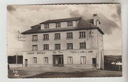 """CPSM LARODDE (Puy De Dome) - 823 M Colonie """"La Sim"""" M.S.A Du Loir Et Cher - Autres Communes"""