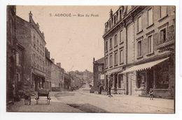 - CPA AUBOUE (54) - Rue Du Pont - Edition Bazar N° 9 - - Autres Communes