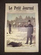 Journal 4 Pages (fac Similé) Le Petit Journal 7 Janv. 1893 (Le Duel Déroulède Clémenceau,La Galette Fête Des Rois - Newspapers