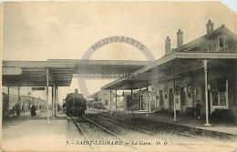 /! 2769 - CPA/CPSM - 88 : Saint Léonard : La Gare - Autres Communes