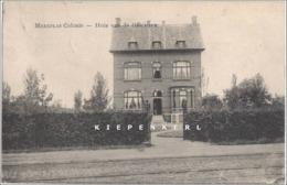 Mooie Kaart Uit 1909 Van MERXPLAS COLONIE - MERKSPLAS - HUIS VAN DE OFFICIEREN TRAMWAY - Merksplas