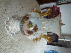Vase En Porcelaine - Cerámica Y Alfarerías