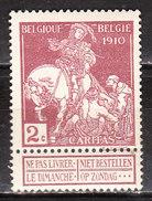 90*  Caritas - Bonne Valeur - MH* - LOOK!!!! - 1910-1911 Caritas