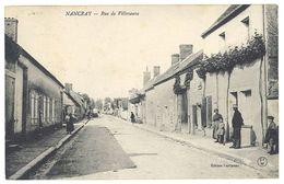 Cpa Nancray - Rue De Villeneuve - Autres Communes