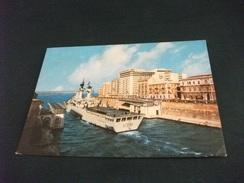 NAVE SHIP GUERRA VITTORIO VENETO MENTRE PASSA CANALE E PONTE TARANTO - Guerra