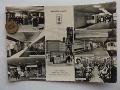 Berliner U-Bahn, U-Bahnhöfe Britz, Seidelstr., Leopoldplatz U.a.,1970 - Charlottenburg