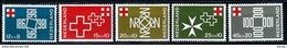 Nederland 1967: 100 Jaar Nederlandsche Roode Kruis ** MNH - Nuovi