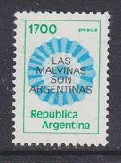 Argentina 1982 Las Malvinas Son Argentinas 1v ** Mnh (37174) - Argentinië