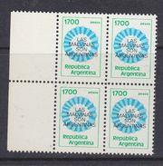 Argentina 1982 Las Malvinas Son Argentinas 1v Bl Of 4  ** Mnh (37174B) - Argentinië