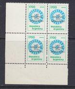 Argentina 1982 Las Malvinas Son Argentinas 1v Bl Of 4 (corner)  ** Mnh (37174C) - Ongebruikt