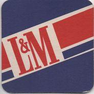 SOUS-BOCK Coaster - L&M  - Même Chose Des Deux Cotés - Sous-bocks