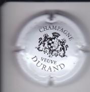 PLACA DE CHAMPAGNE VEUVE DURAND LETRAS FINAS (CAPSULE) - Durand (Veuve)