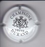 PLACA DE CHAMPAGNE VEUVE DURAND LETRAS GRUESAS (CAPSULE) - Durand (Veuve)