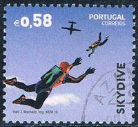 Portugal - Parachutisme 4095 (année 2016) Oblit. - 1910-... République