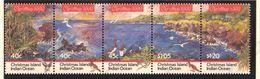 Christmas Island, Yvert 381/385, Scott 347a-e, SG 367/371, MNH - Christmas Island