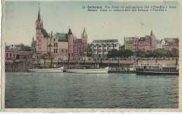 Antwerpen - Anvers - Het Steen En Aanlegplaats Der Flandria Boten - Circulé - TBE - Antwerpen