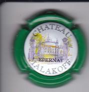 PLACA DE CHAMPAGNE CHATEAU MALAKOFF (CAPSULE) - Malakoff (Kasteel)