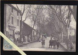 Drome - Bourg De Péage - Café Des Platanes, Quartier De Boisset - Du Monde Dans La Rue ! - Autres Communes