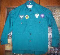 Danish KFUM Spejderne Scouts Jacket (4 Patches) - Scoutisme