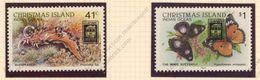 Christmas Island, Yvert 298&299, Scott 246&247, SG283&284, MNH - Christmas Island