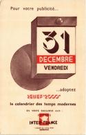 CPA Relief 2000 INTER-FRANCE Le Calendrier 7, Cours Du Vieux Port MARSEILLE Publicite (a4801) - Marseille