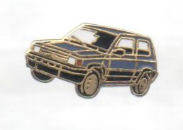 PINS PIN'S AUTO AUTOMOBILE FIAT 26 MMS EGF PANDA - Fiat
