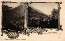 CPA Villaggio LOSANCHE E Le Grand Tournalin VALTOURNANCHE Villaggio CREPIN ITALY (a4842) - Italy