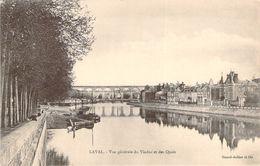 CPA Laval Vue Générale Du Viaduc Et Des Quais (animée)(précurseur) P886 - Laval