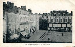 N°60428 -cpa Cholet -place Travet- - Cholet