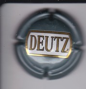 PLACA DE CHAMPAGNE DEUTZ (CAPSULE) - Deutz