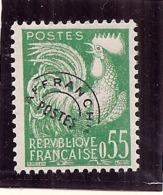 France Neuf **  - Préoblitéré N) 123 En Bloc De  Côte 30€ Sans Trace Charniere Parfait - Precancels