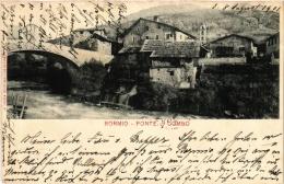 CPA BORMIO Ponte Di Combo ITALY (a4926) - Altre Città