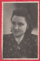 221234 / Real Photo PORTRAIT  BEAUTIFUL WOMAN GIRL  Russia Russie Russland Rusland - Personnes Anonymes