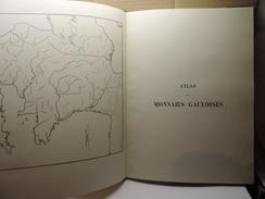 ATLAS DE MONNAIES  GAULOISES . HENRI DE LA TOUR. 1965 - Livres & Logiciels