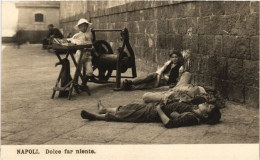 CPA NAPOLI NAPLES Dolce Far Niente ITALY (a4980) - Napoli