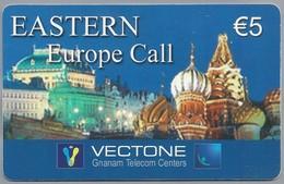 IT.- INTERNATIONAL PHONECARD. EASTERN Europa Call. VECTONE. € 5. GNANAM TELECOM CENTERS. Serie 1242. 2 Scans - GSM-Kaarten, Aanvulling & Voorafbetaald