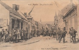 Putte , De Grens In 1914 ,(F.Hoelen ,Cappellen , 8107 ) - Putte
