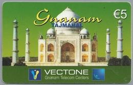 DE.- INTERNATIONAL PHONECARD. Serie 0612. GNANAM. TAJMAHAL. VECTONE TELECOM CENTERS. € 5. - Duitsland