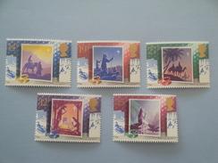 1988 Grande Bretagne Yv 1358/62 ** Noël Christmas Scott 1234/8  Michel 1180/4 SG 1414/8 - 1952-.... (Elizabeth II)