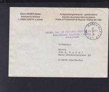 Italien Italia Kriegsgefangenenpost SS Major Walter Reder Österreich 1979 - Historische Dokumente