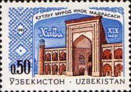 Uzbekistan 1992 1 V MNH Madrasah In Khiva - Mosquées & Synagogues